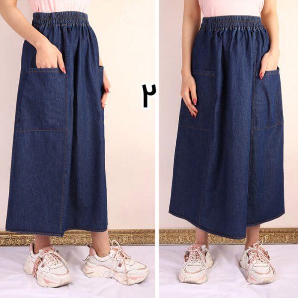 خرید دامن کوتاه جین
