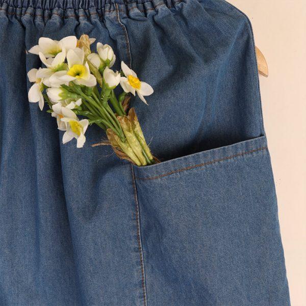 هزینه دامن کوتاه جین