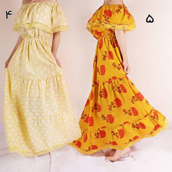 هزینه لباس ساحلی گلدار