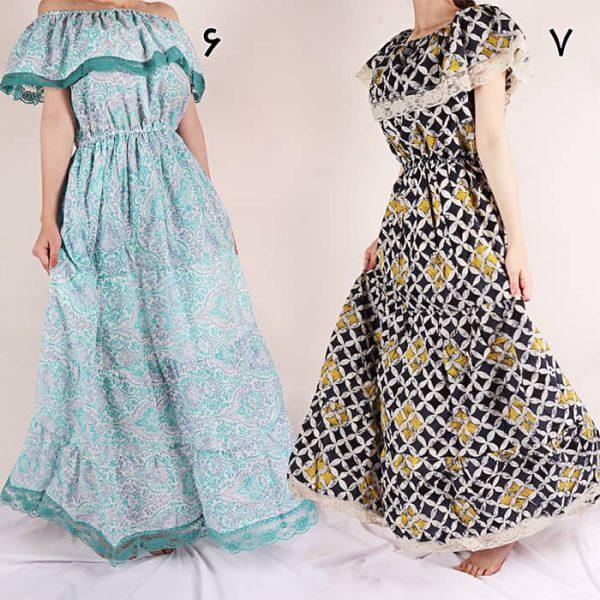 قیمت لباس ساحلی گلدار