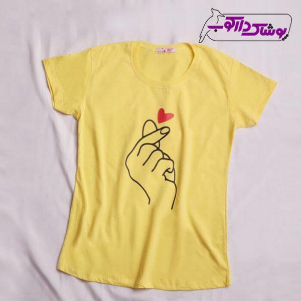 خرید تیشرت بلند اسپرت دخترانه