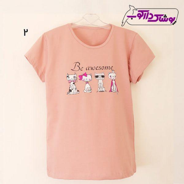 خرید تیشرت دخترانه اسپرت شیک