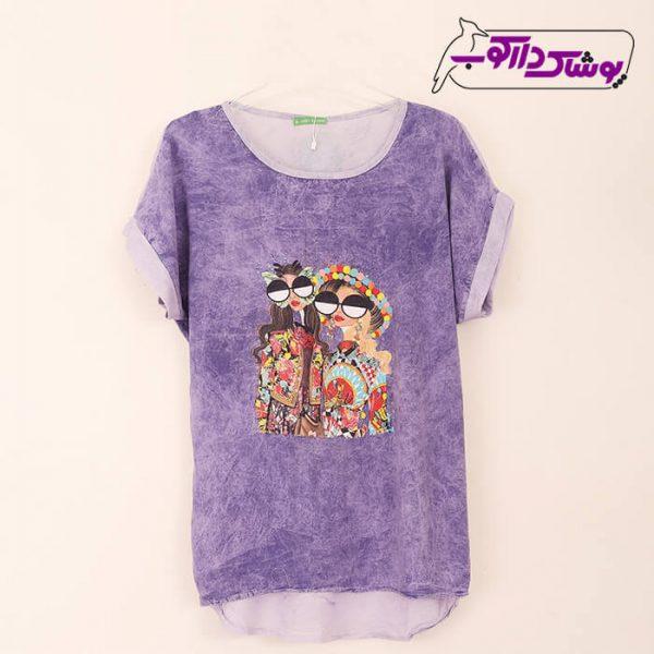 فروش تی شرت زنانه شیک