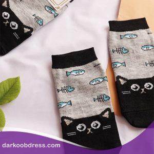 جوراب ساق کوتاه فانتزی دخترانه