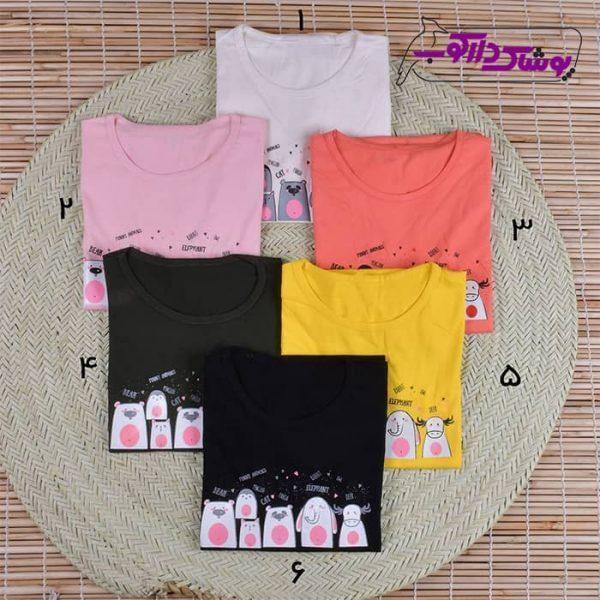 فروش تیشرت دخترانه بچگانه